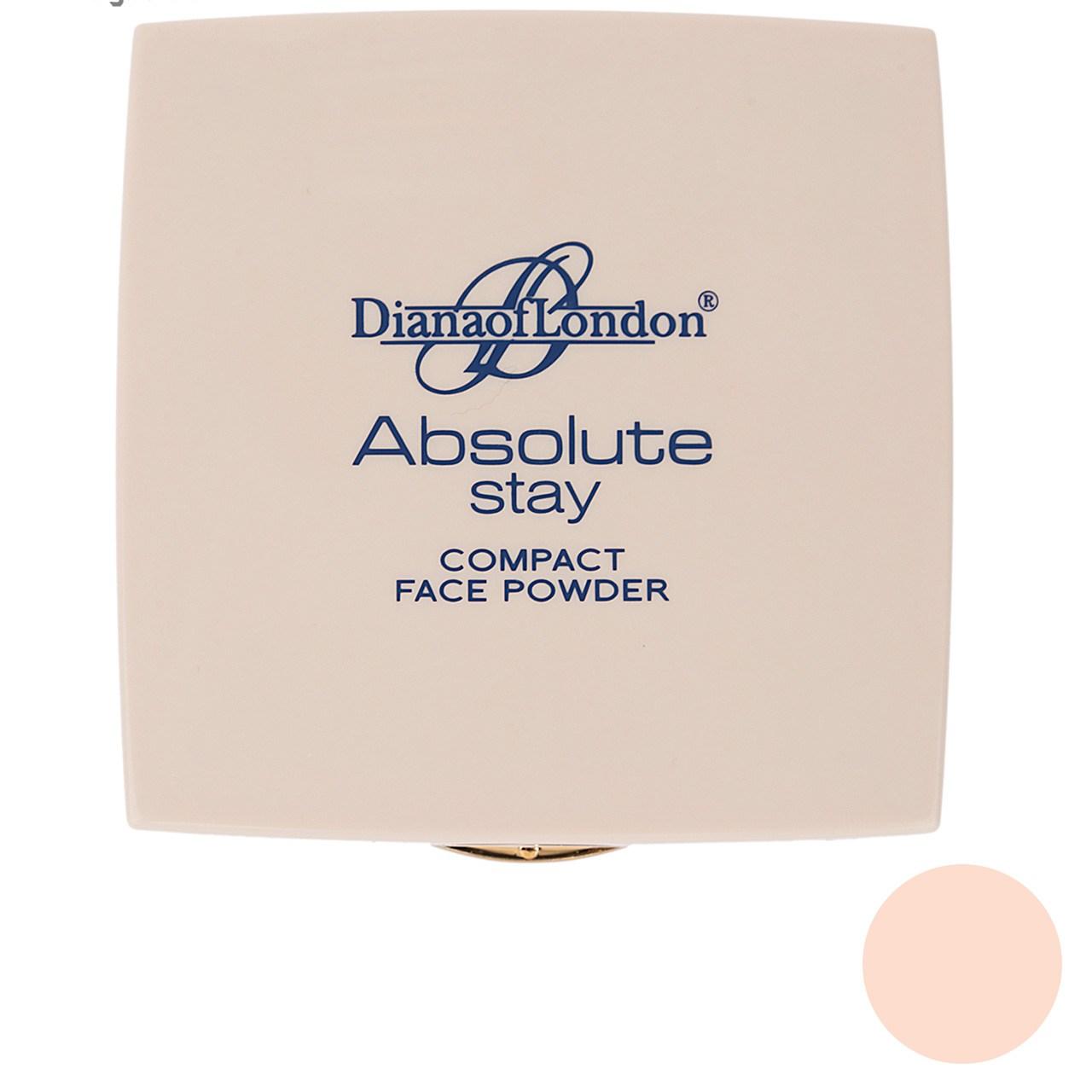 پنکیک دایانا آف لاندن سری Absolute Stay مدل Nud Rose شماره 404