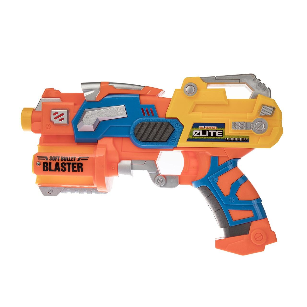 تفنگ اسباب بازی مدل Soft Bullet Blaster