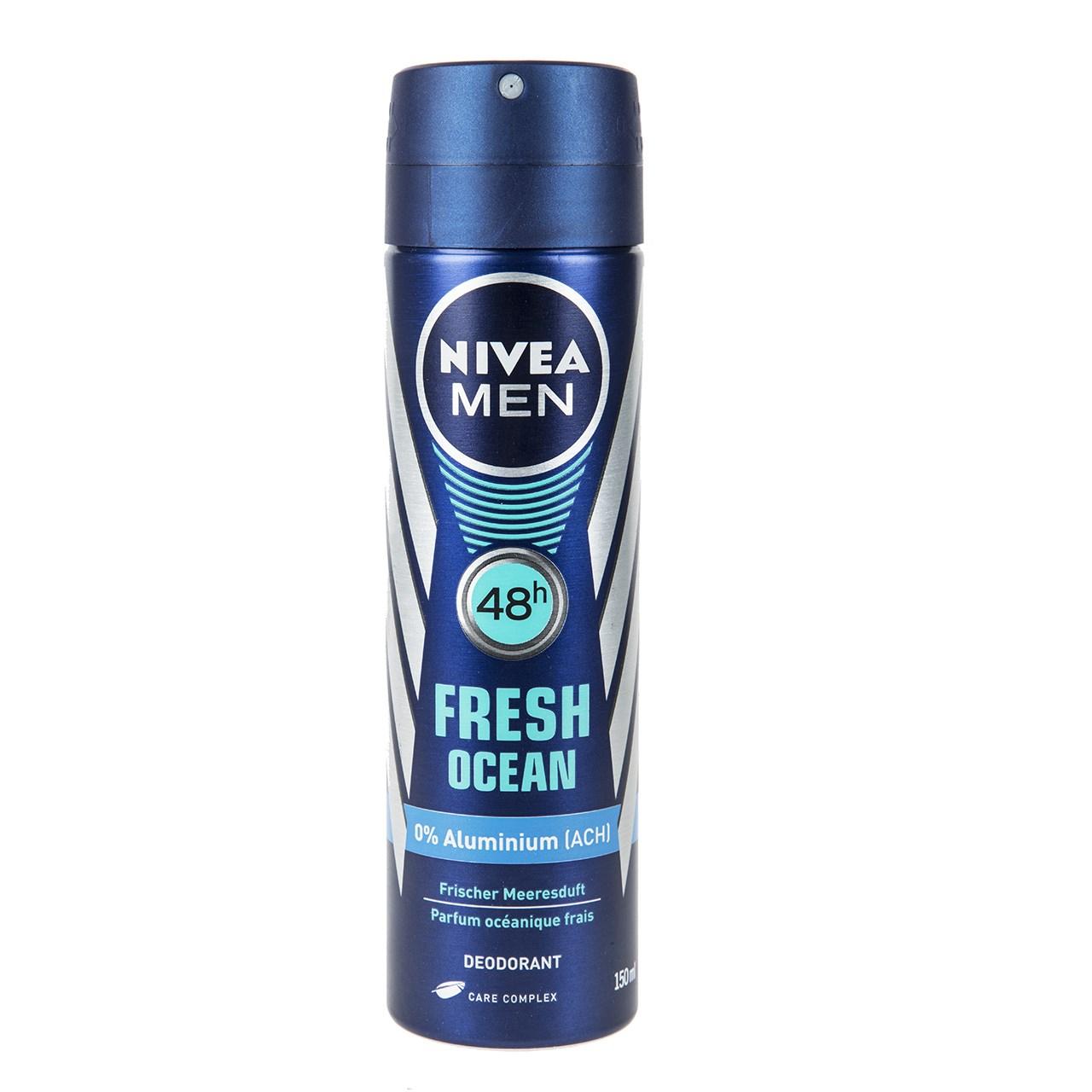 اسپری مردانه نیوآ سری Men مدل Fresh Ocean حجم 150 میلی لیتر