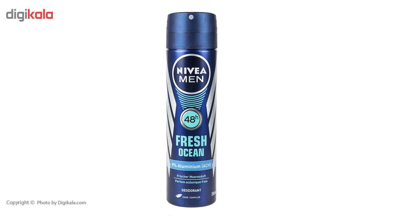 اسپری مردانه نیوآ سری Men مدل Fresh Ocean حجم 150 میلی لیتر main 1 1