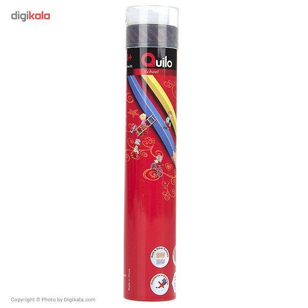 مداد رنگی 12 رنگ کوییلو مدل School main 1 1