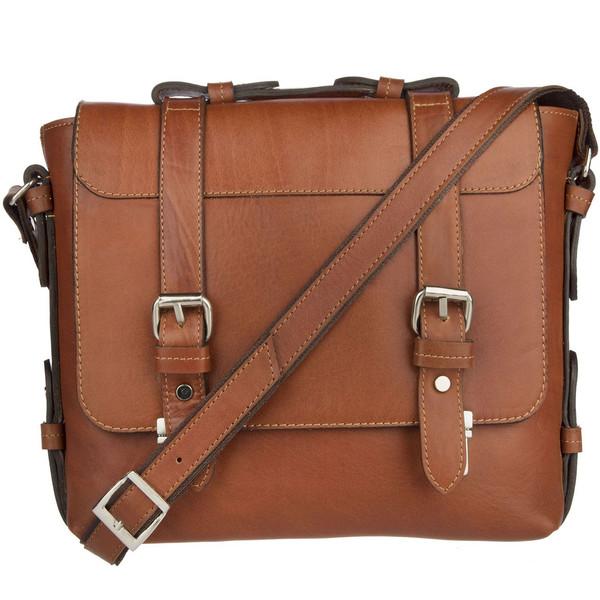 کیف دوشی چرم طبیعی گالری ماندگار مدل اسپرت136004