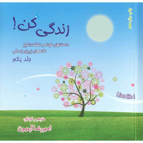 کتاب زندگی کن اثر امیررضا آرمیون - جلد اول