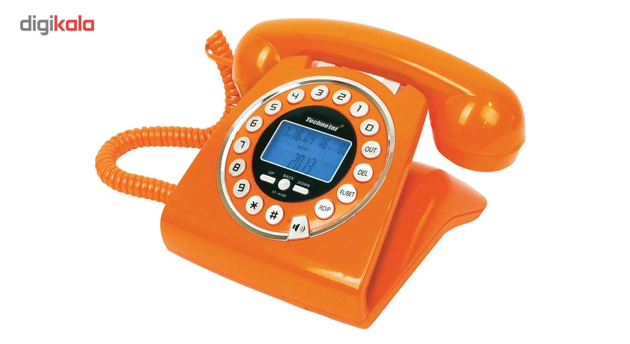 قیمت                      تلفن تکنوتل مدل 4100