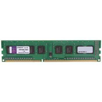 رم دسکتاپ DDR3 دو کاناله 1600 مگاهرتز CL11 کینگستون ظرفیت 4 گیگابایت