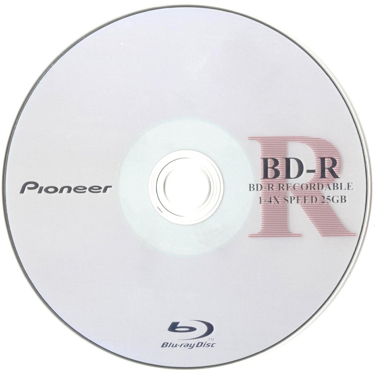 بلو ری خام پایونیر مدل BD-R با ظرفیت 25 گیگابایت