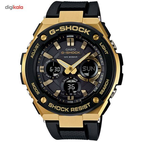 ساعت مچی عقربه ای مردانه کاسیو مدل GST-S100G-1ADR  Casio GST-S100G-1ADR Watch For Men