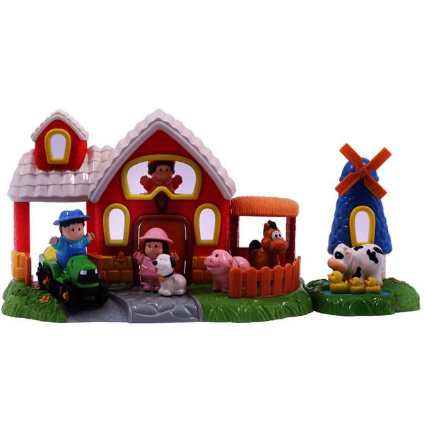 بازی آموزشی هپی کید مدل Barn And Farm 3882