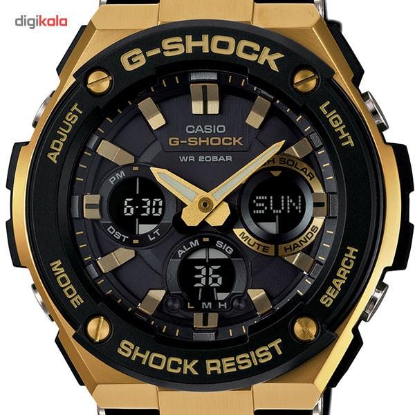 ساعت مچی عقربه ای مردانه کاسیو مدل GST-S100G-1ADR
