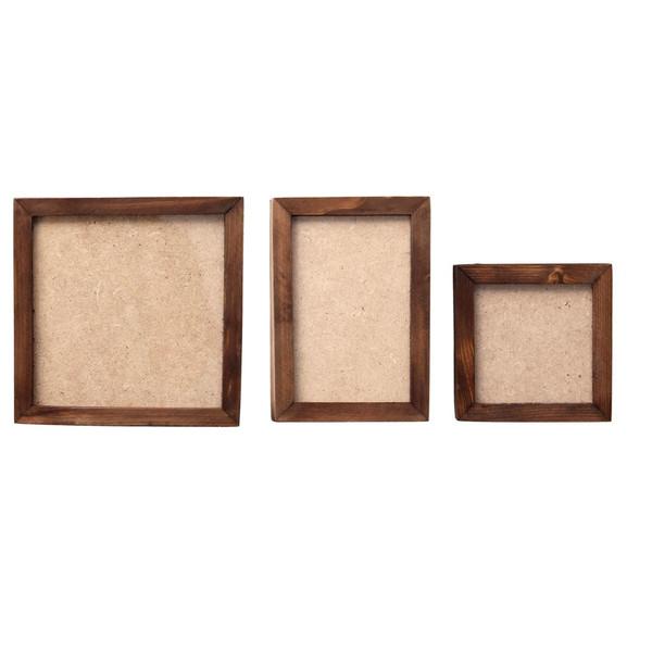 قاب عکس چوبی مارکت لند کد MCH02