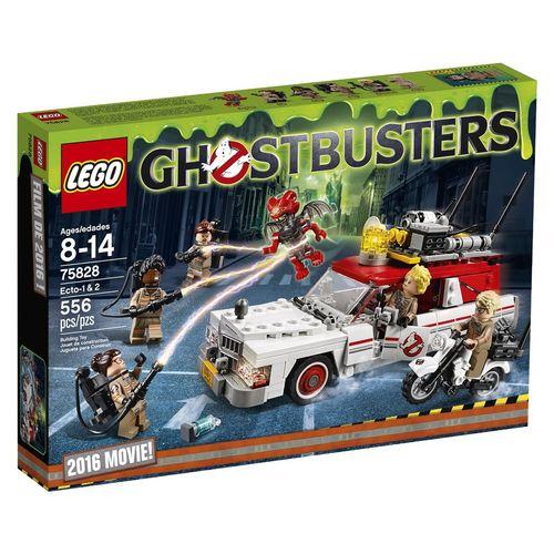 لگو سری Ghost Busters مدل Ecto-1 And Ecto-2 75828
