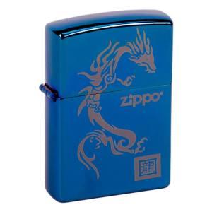 فندک طرح زیپو مدل Dragon