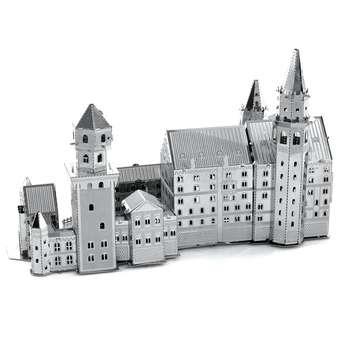 پازل سه بعدی فلزی New Swan Stone Castle