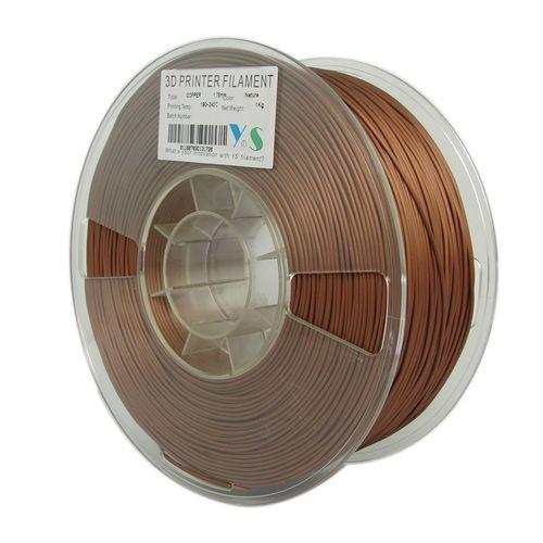 فیلامنت پرینتر سه بعدی PLA  مس یوسو  1.75 میلیمتر   1 کیلو