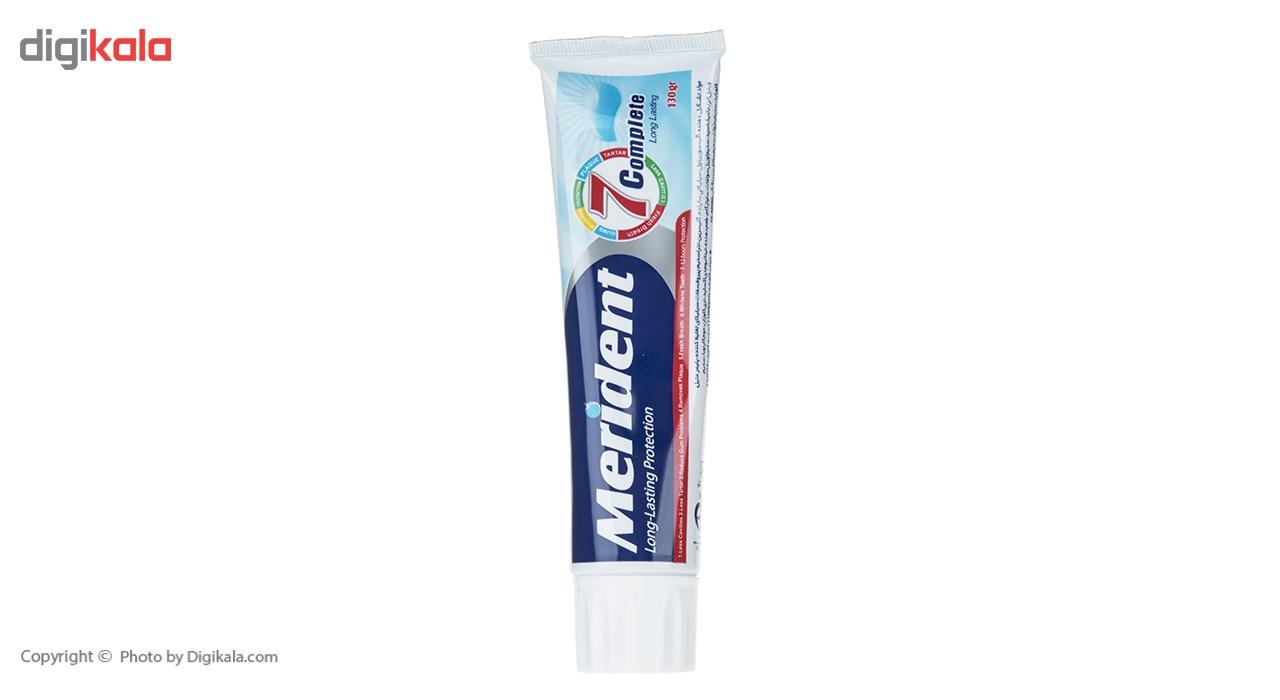 خمیر دندان سفید کننده مریدنت مدل 7 Complete مقدار 130 گرم main 1 1
