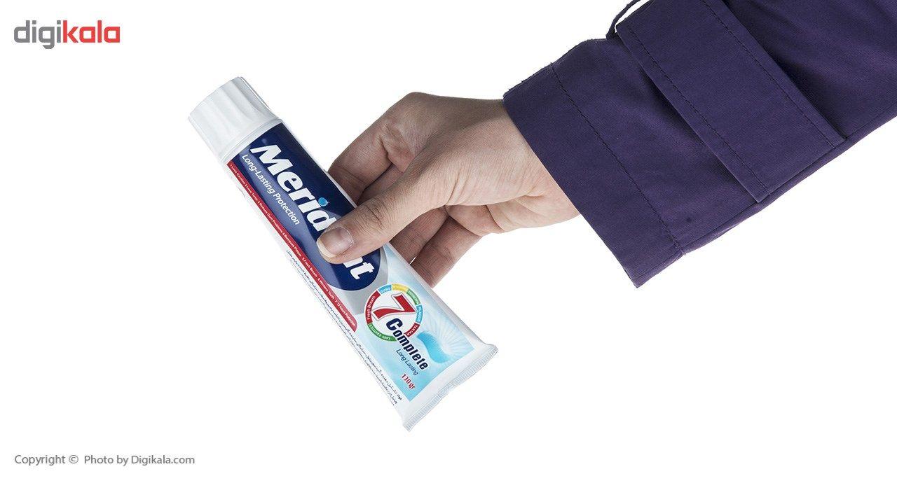 خمیر دندان سفید کننده مریدنت مدل 7 Complete مقدار 130 گرم main 1 3