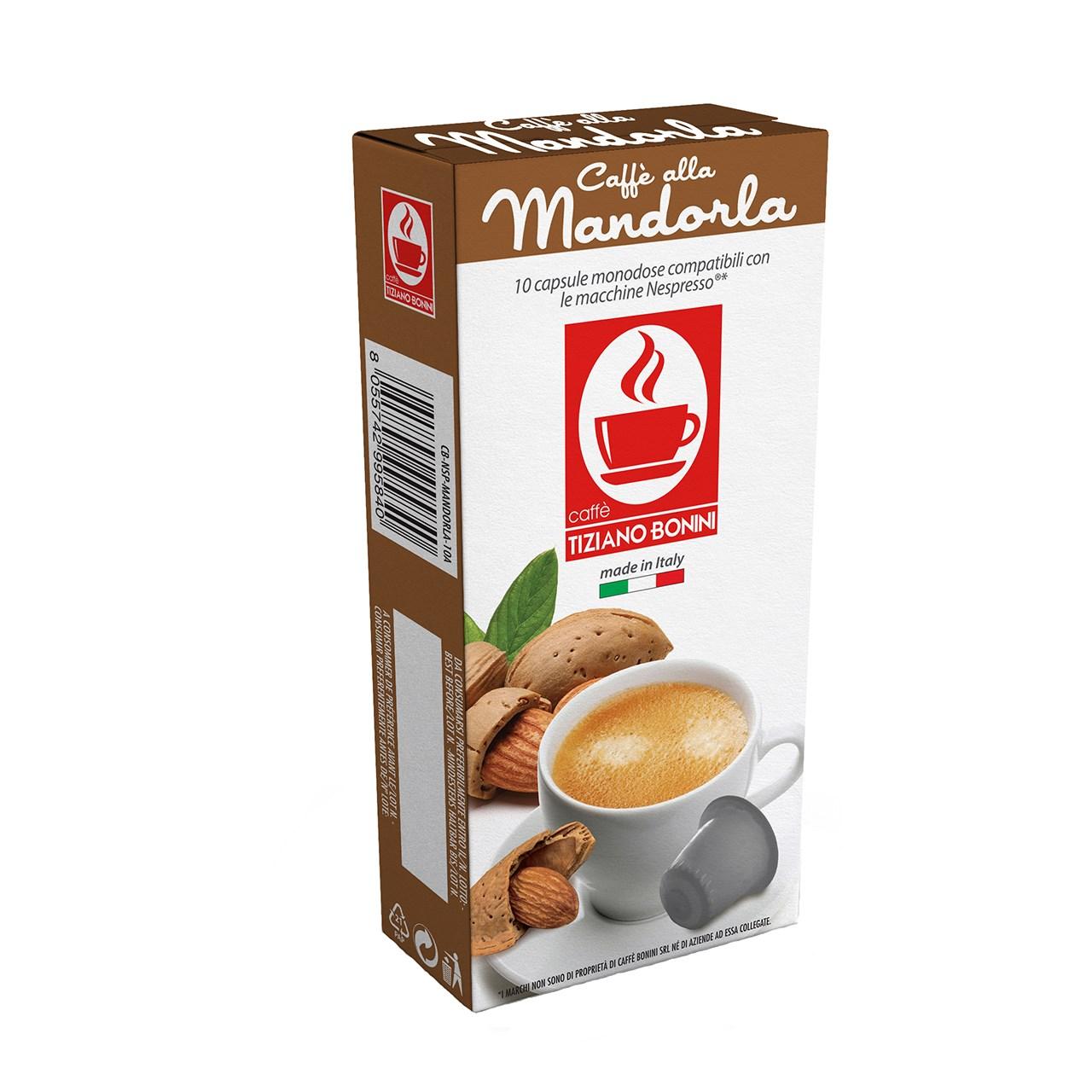کپسول قهوه تیزیانو بونینی مدل Mandorla