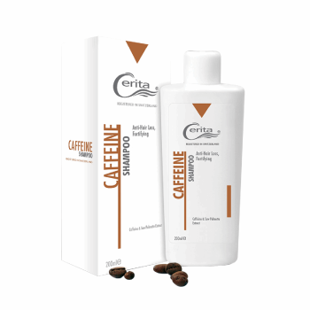شامپو تقویت کننده و ضد ریزش سریتا مدل Caffeine حجم 200 میلی لیتر