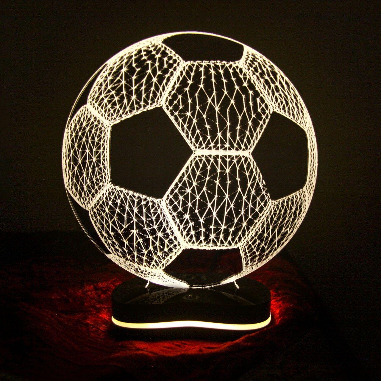 چراغ خواب سه بعدی گالری دکوماس طرح توپ فوتبال کد DMS151