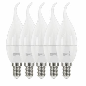 لامپ ال ای دی 6 وات پارسه شید مدل PL6 پایه E14 بسته 5 عددی