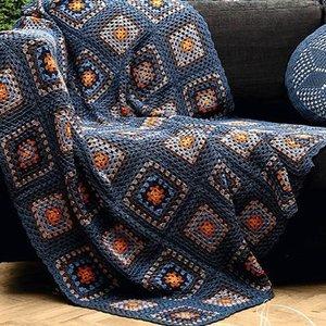 شال مبل و تخت مدل موتیف سایز 120×120 سانتیمتر