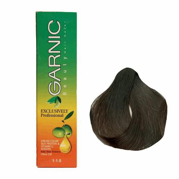 کیت رنگ موی گارنیک سری طبیعی - قهوه ای خیلی تیره شماره 2