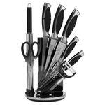 سرویس چاقو آشپزخانه 9 پارچه وینر لوکس مدل KH-002  thumb