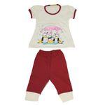 ست تی شرت و شلوار نوزادی مدل Arvin115-10