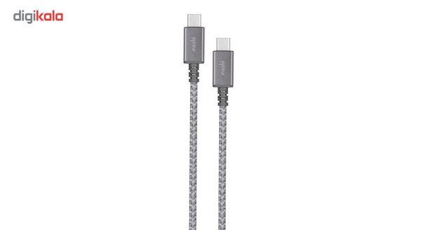 کابل تبدیل USB-C به USB-C موشی مدل Integra طول 2 متر