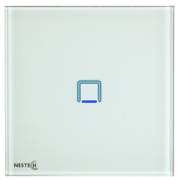 کلید تبدیل لمسی هوشمند نستک مدل NE4-TS01W-G1
