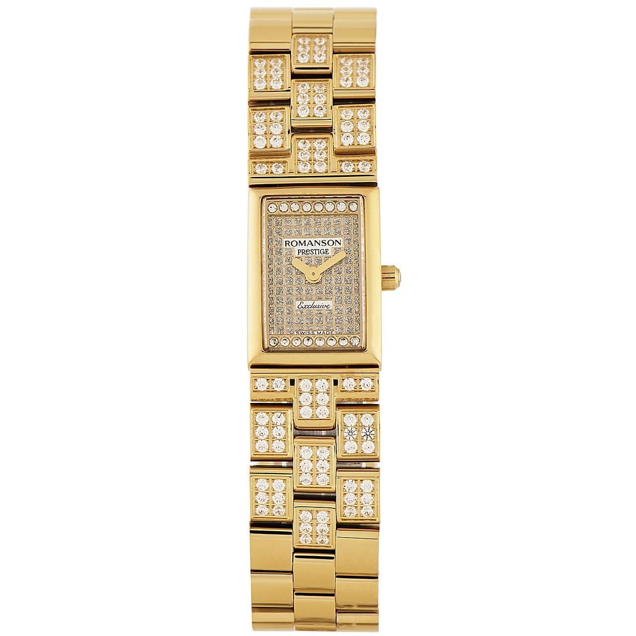 ساعت مچی عقربه ای زنانه رومانسون مدل RM3255QL1GAS1G