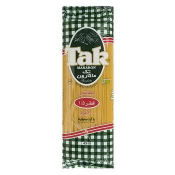 اسپاگتی قطر 1.5 تک ماکارون مقدار 700 گرمی