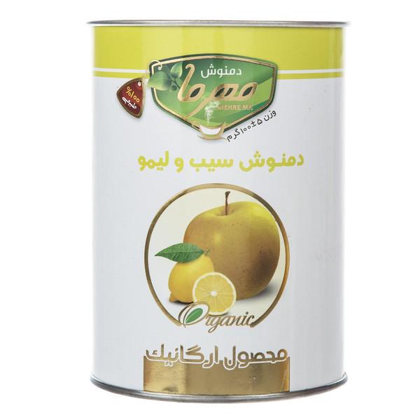 دمنوش سیب و لیمو مهرما مقدار 100 گرمی