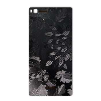 برچسب پوششی ماهوت مدل Wild-flower Texture مناسب برای گوشی  Huawei P8