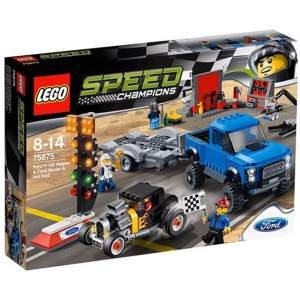 لگو سری Speed مدل Ford F 150 Raptor Ford Model A Hot Rod 75875