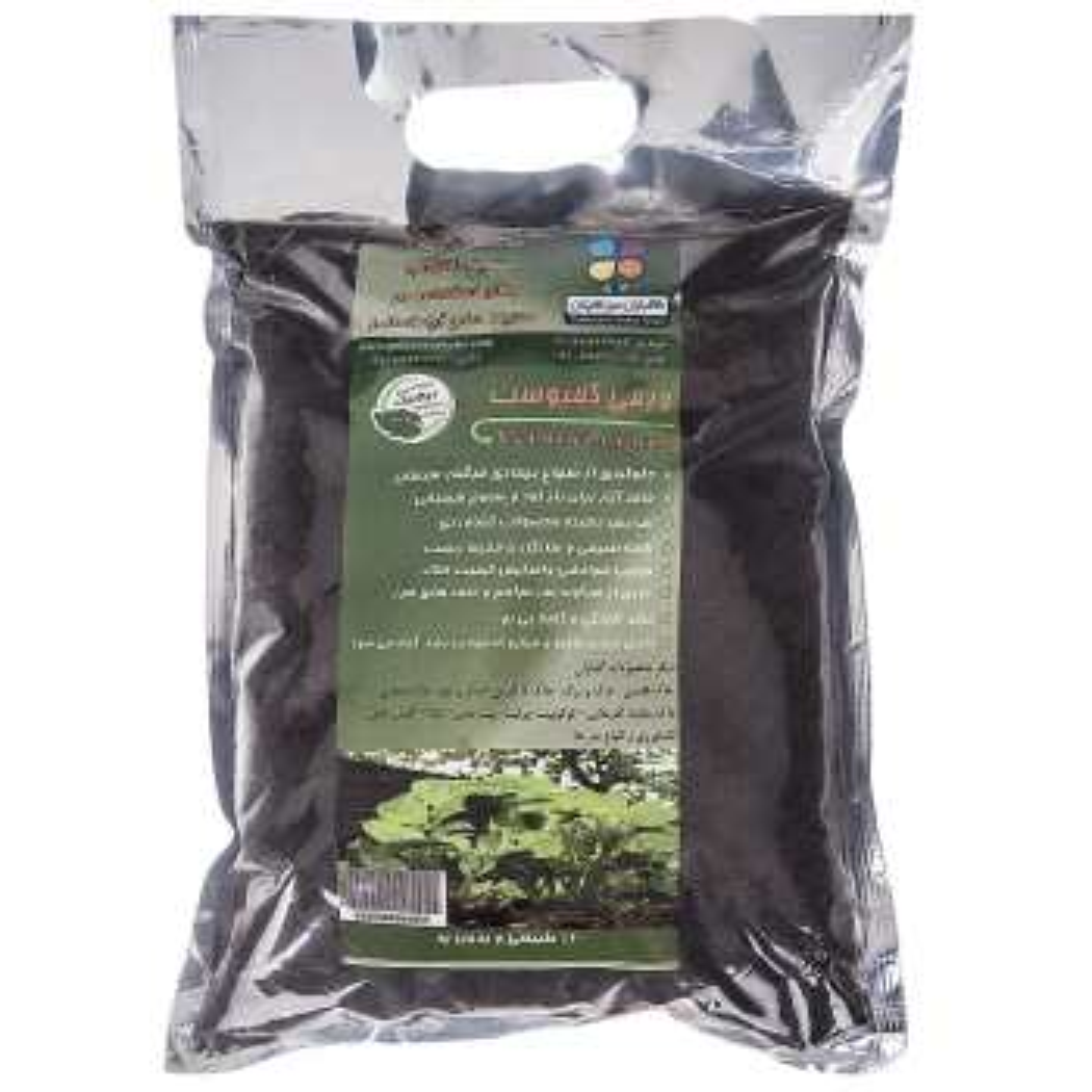 کود ورمی کمپوست گلباران سبز بسته 4 کیلوگرمی