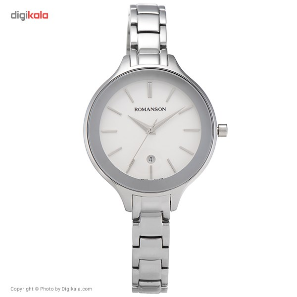 ساعت مچی عقربه ای زنانه رومانسون مدل RM4208LL1WA12W 55