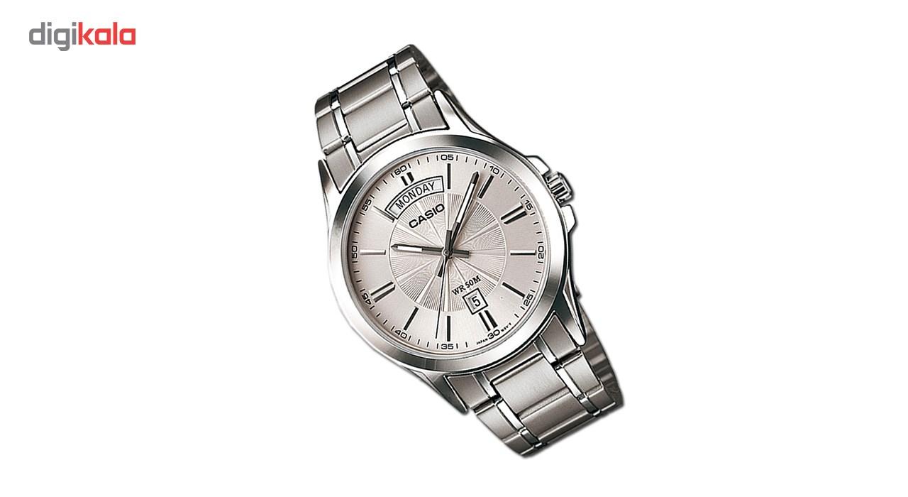 خرید ساعت مچی عقربه ای مردانه کاسیو مدل MTP-1381D-7AVDF