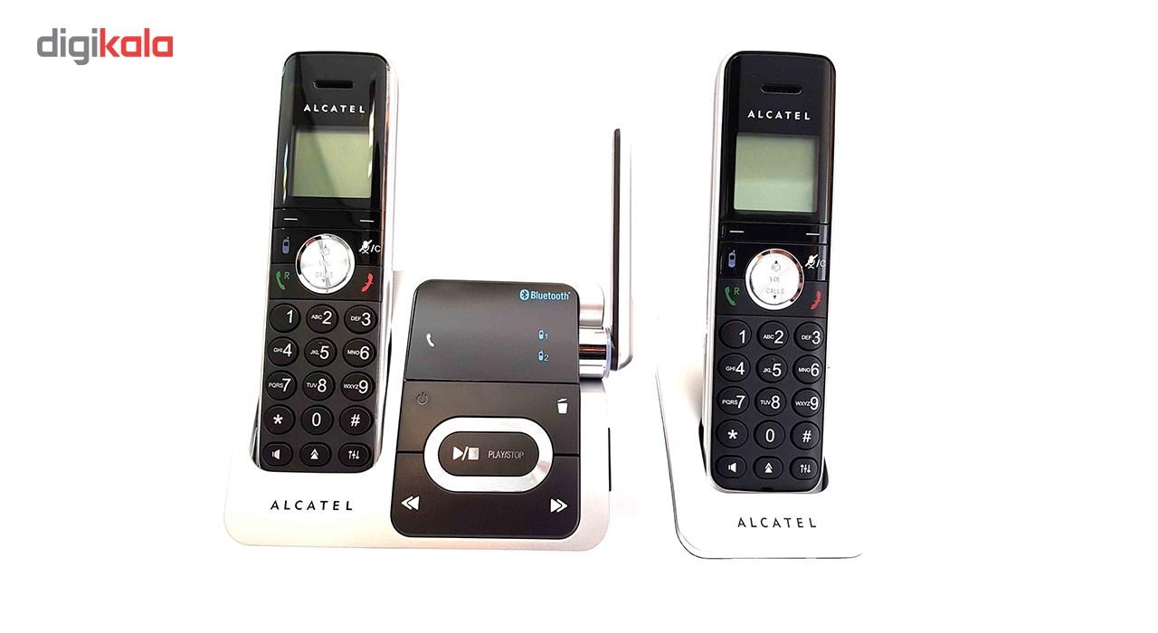 قیمت                      تلفن بی سیم آلکاتل مدل  XP1050 DUO