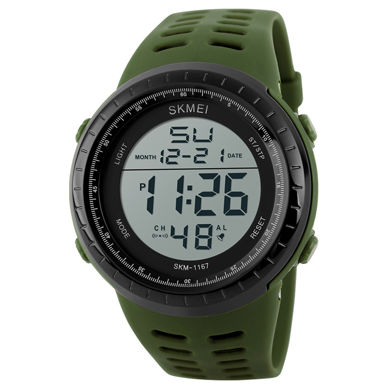ساعت مچی دیجیتالی مردانه اسکمی مدل 1167 کد 02 12