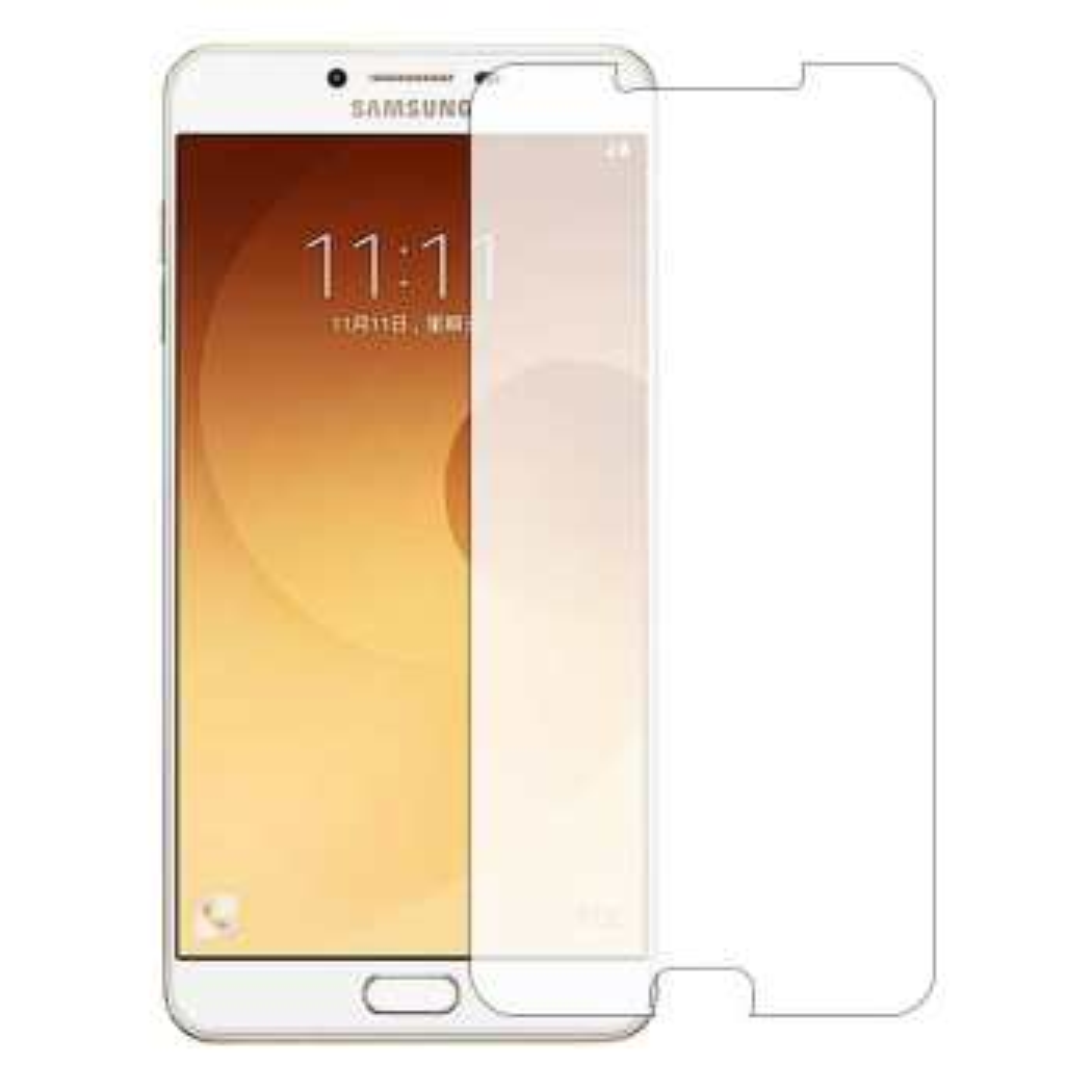 محافظ صفحه نمایش شیشه ای تمپرد مناسب برای گوشی موبایل سامسونگ Galaxy C9