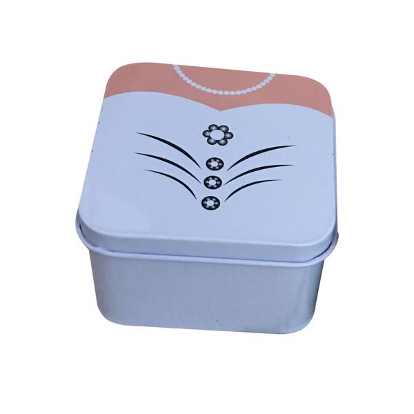 جعبه هدیه فلزی مدل عروس کد 06