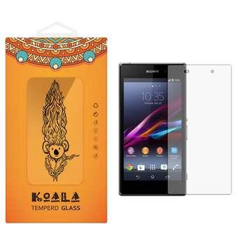 محافظ صفحه نمایش شیشه ای کوالا مدل Tempered مناسب برای گوشی موبایل سونی Xperia Z1