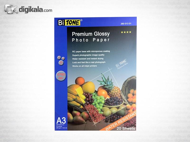 قیمت                      کاغد عکس گلاسه بای تون مدل 26001301