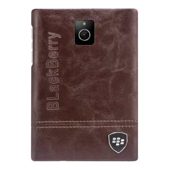 کاور  چرمی بلک بری مناسب برای گوشی موبایل بلک بری Passport