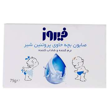 صابون بچه فیروز مدل Milk Protein مقدار 75 گرم