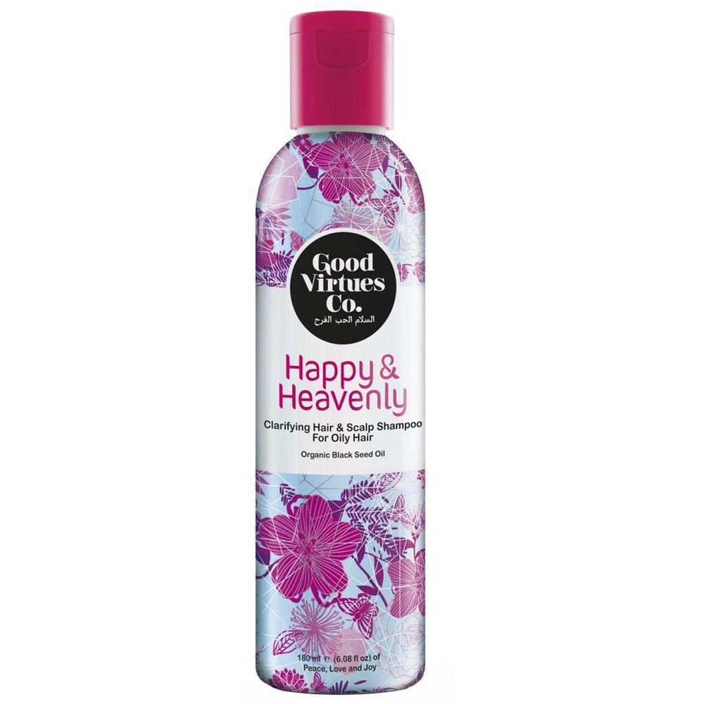 شامپو تقویتی و حجم دهنده موهای چرب گود ورچو مدل Clarifying Hair And Scalp Shampoo حجم 180 میلی لیتر