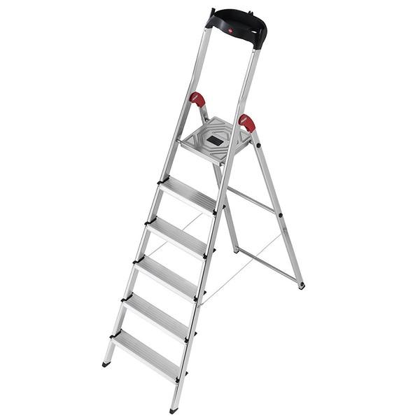 نردبان شش پله هایلو مدل L60-8160601