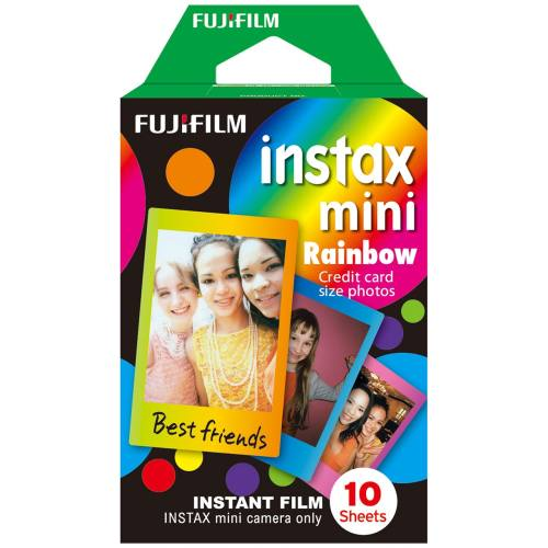 فیلم مخصوص دوربین فوجی اینستکس مینی مدل Rainbow
