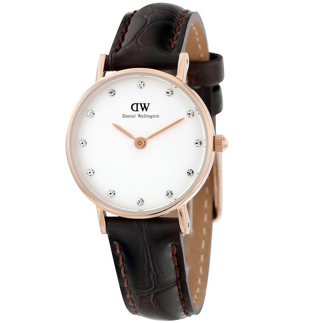 ساعت مچی عقربه ای زنانه دنیل ولینگتون مدل DW00100061
